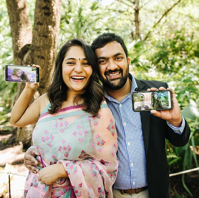 I'm okay with phones at ceremonies if you're calling your parents in India to tell them you just got married in a park in Austin, TX. 🇮🇳🤗