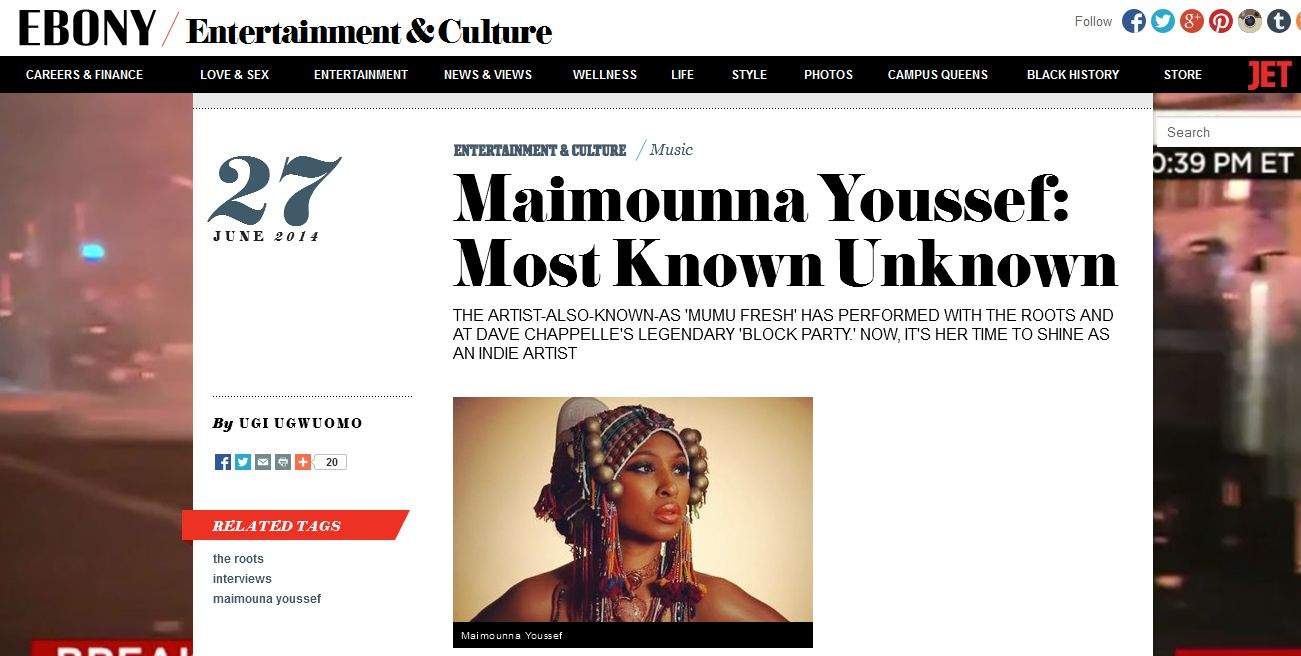 Maimouna Youssef Talks Dave Chappelle, Artistic Re-invention, and More with EBONY