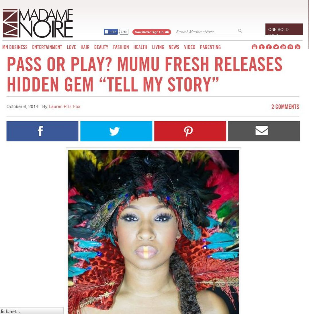 Madame Noire Features Maimouna Youssef's New Music Video And Higlights Kickstarter Campaign