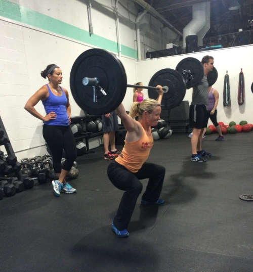 Shoulder issues or not, Amy's on a mission to rock a heaving snatch balance!