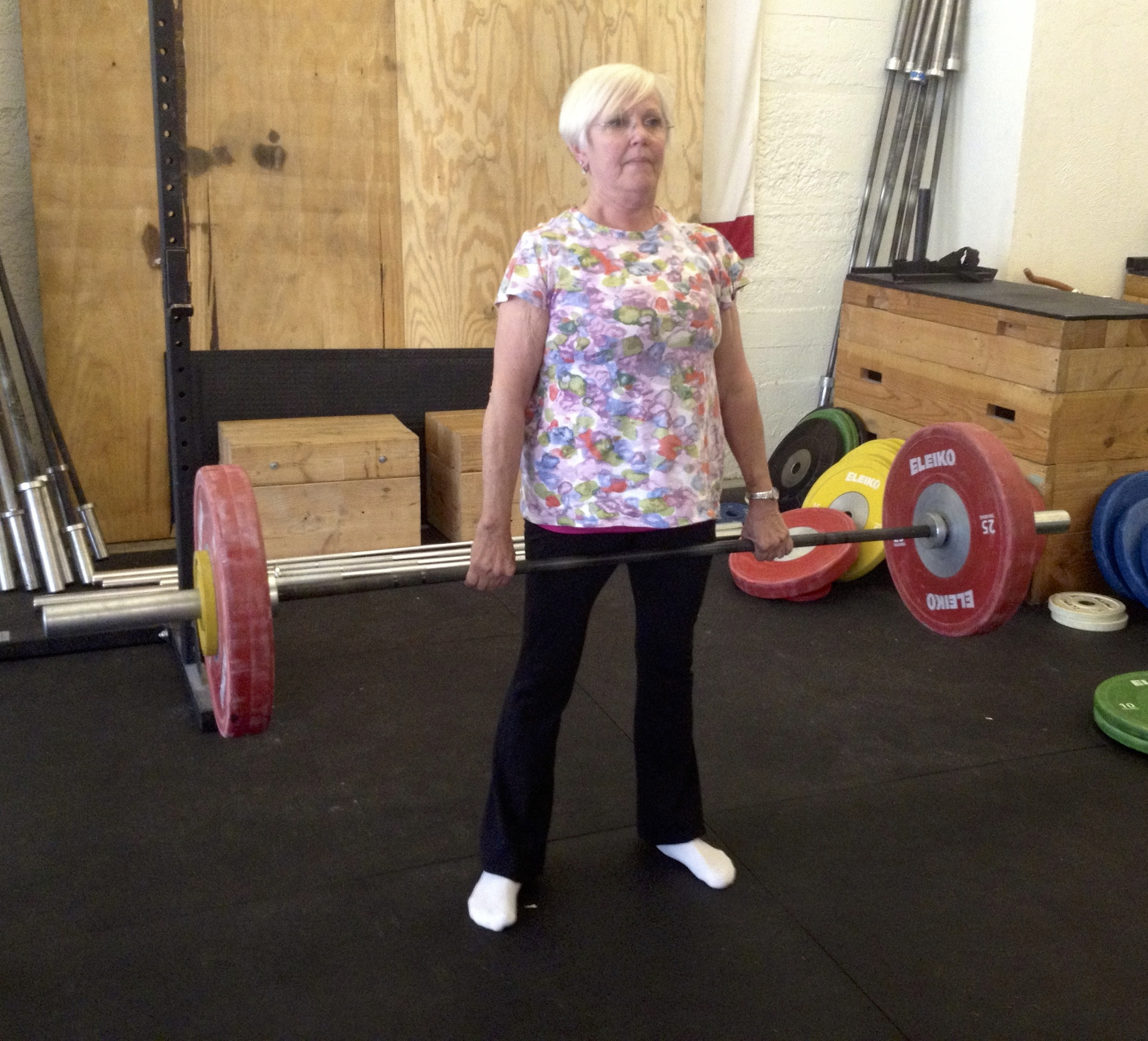 If my mom can deadlift at 70... why can't yours?