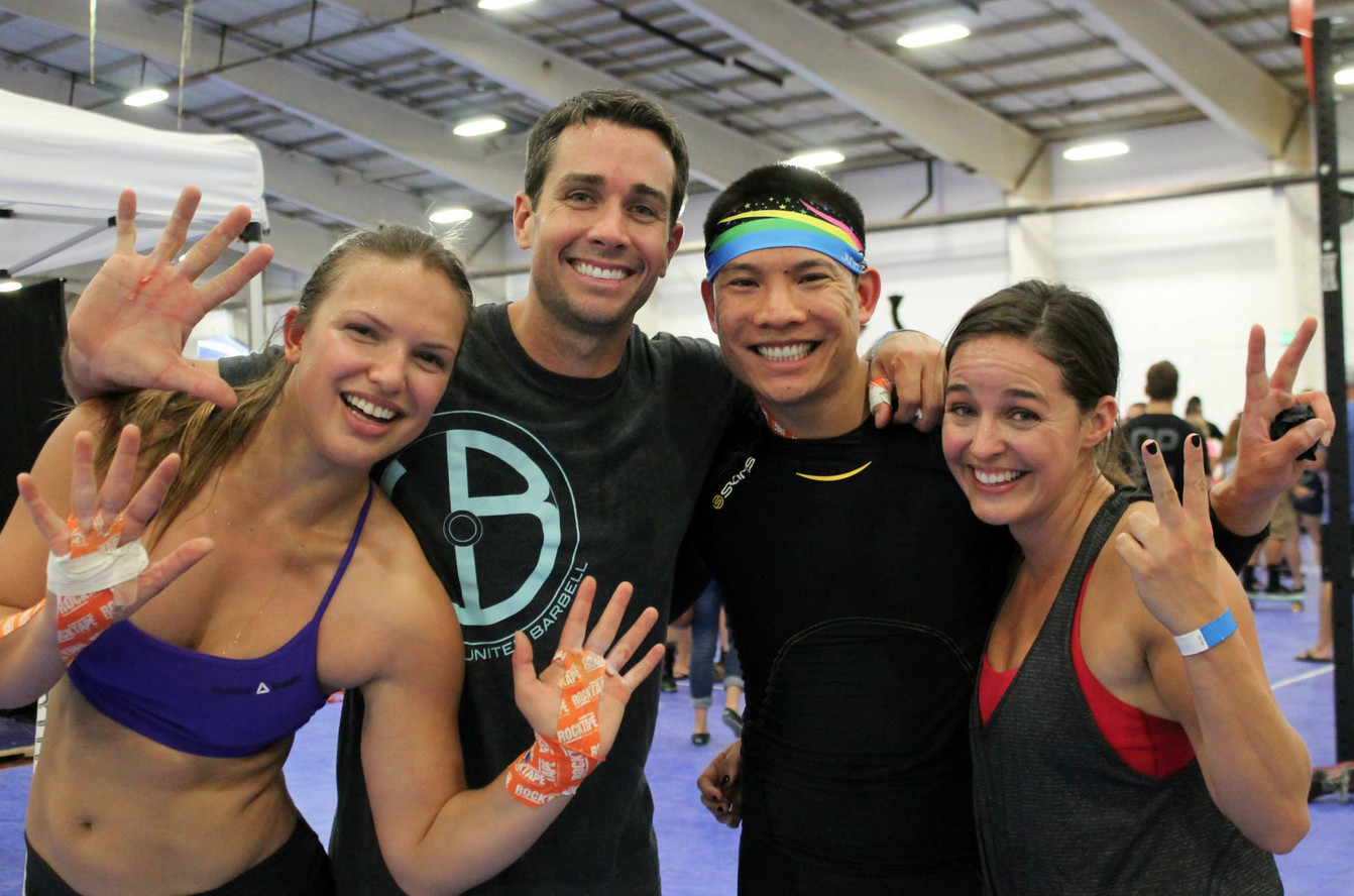 Jeremy with his team at the Fall Fit Team Challenge in October 2014