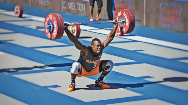 """The squat snatch. Or as the rest of the world calls it, """"the snatch."""""""