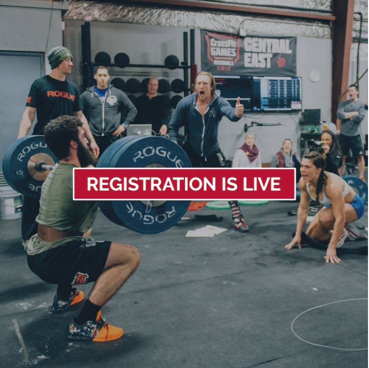 Register for the 2018 CrossFit Open Here!