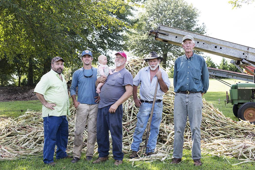 Canewater Appalachia Sorghum Crew