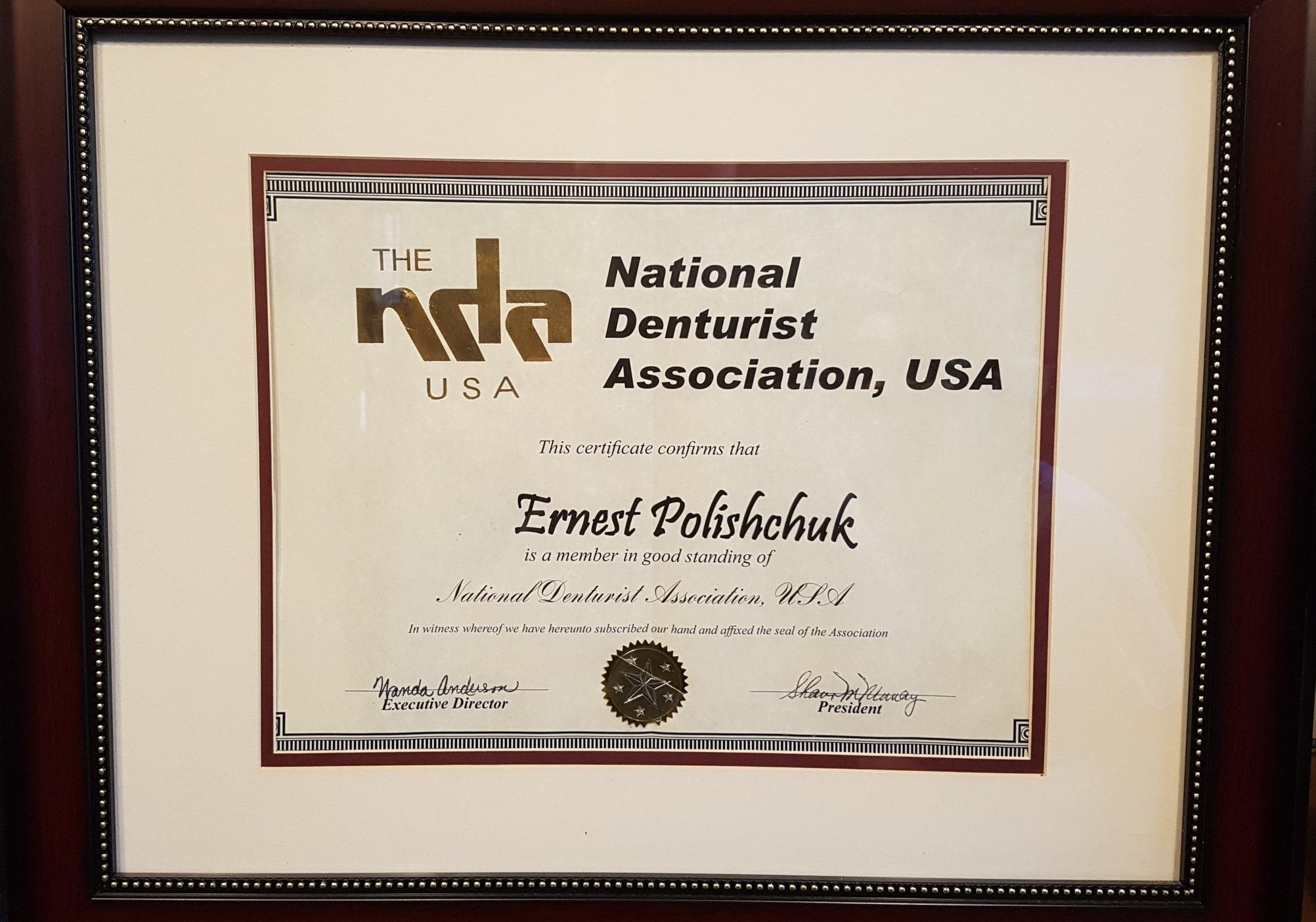 NDA Membership