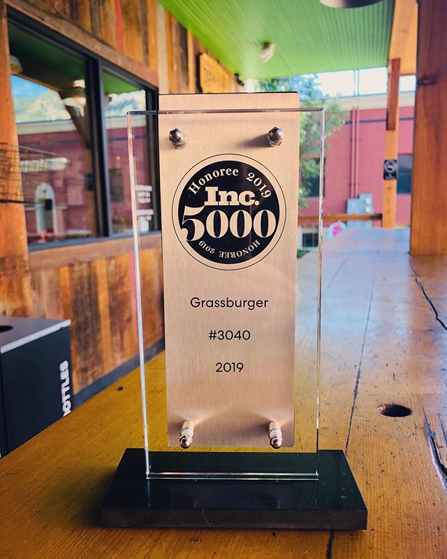 Every year @incmagazine releases a list of 5000 of the fastest growing companies in America- and we made this list! #grassburger #grassfedbeef #regenerativemovement #regenerativeburger #itsnotthecowitsthehow #qualitymatters #carbonsequestration #ethicalomnivore #foodyoucanfeelgoodabout #foodonamission #foodwithpurpose