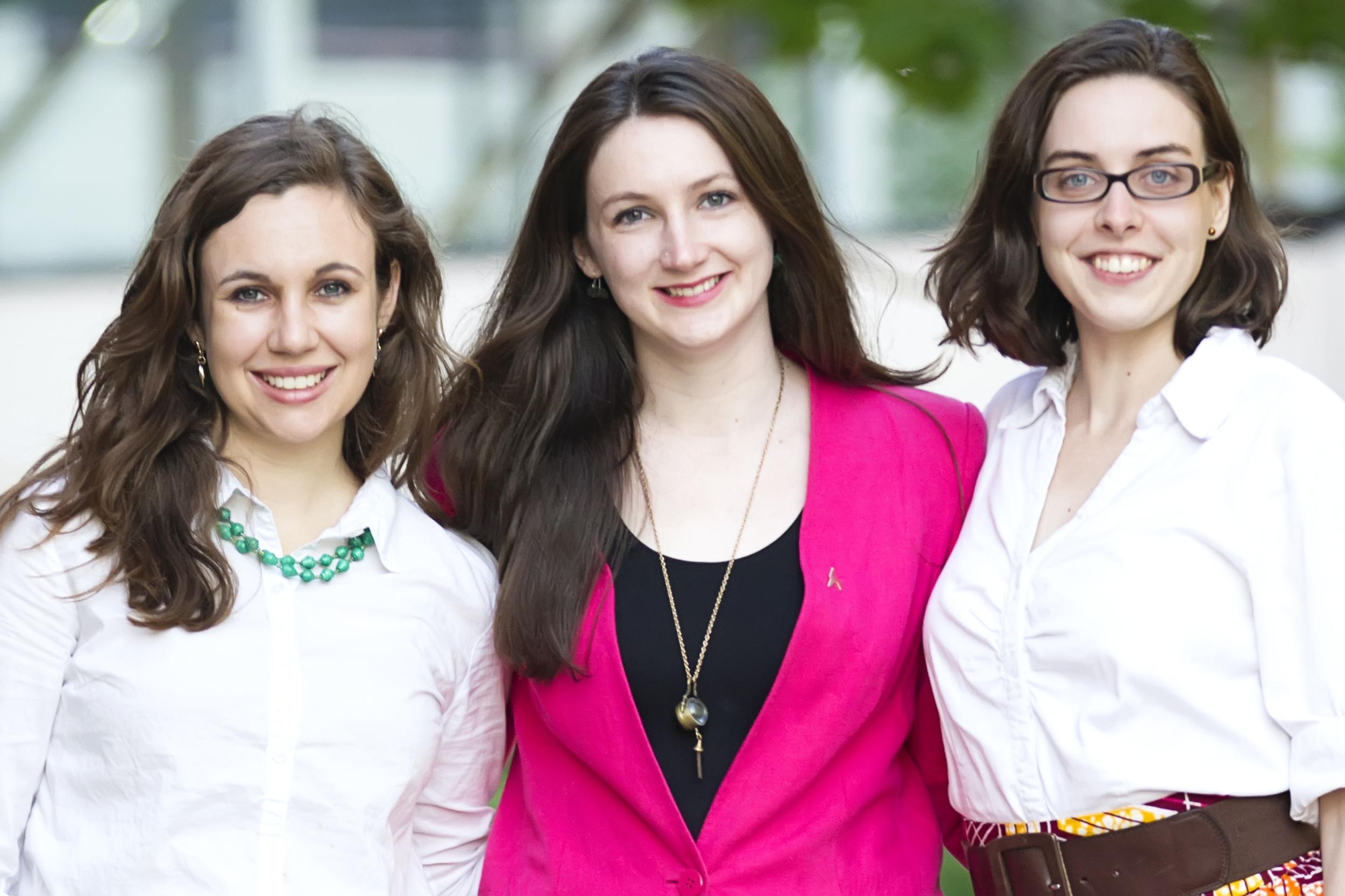 Sisu's C-Suite: Katherine Kirsch (CMO), Carolyn Yarina (CEO), and Gillian Henker (CTO)