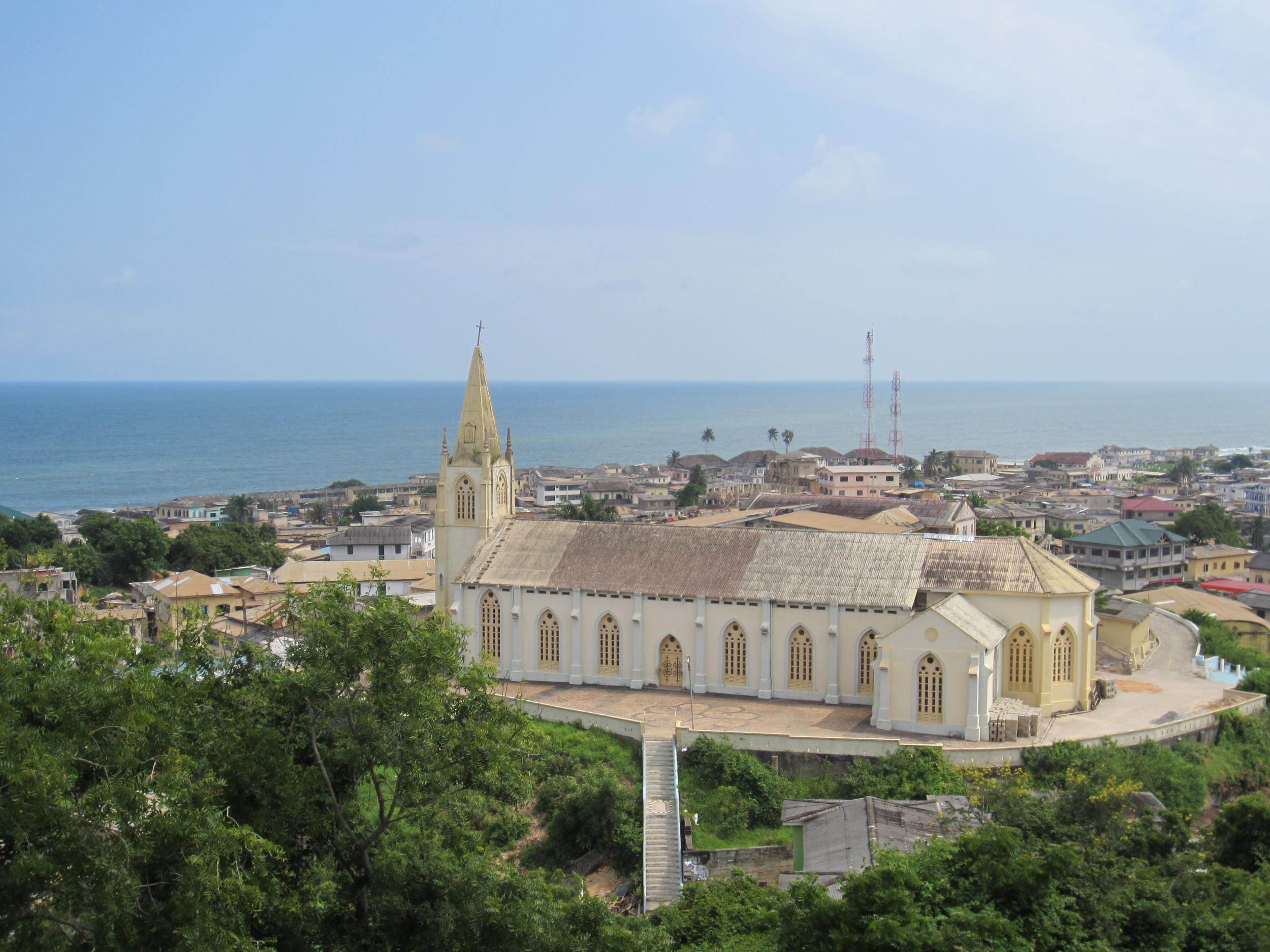 A vista from Cape Coast, Ghana