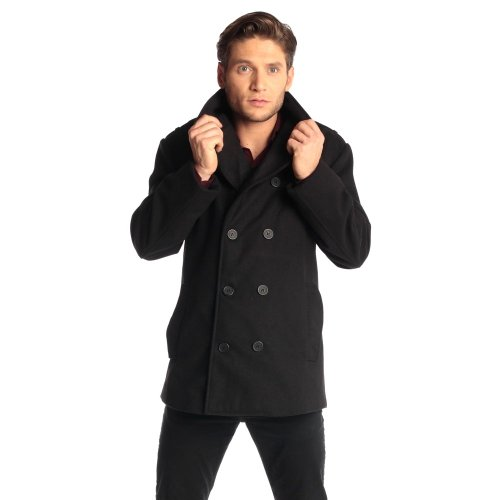 This is a classic Pea-coat style- this IS casual