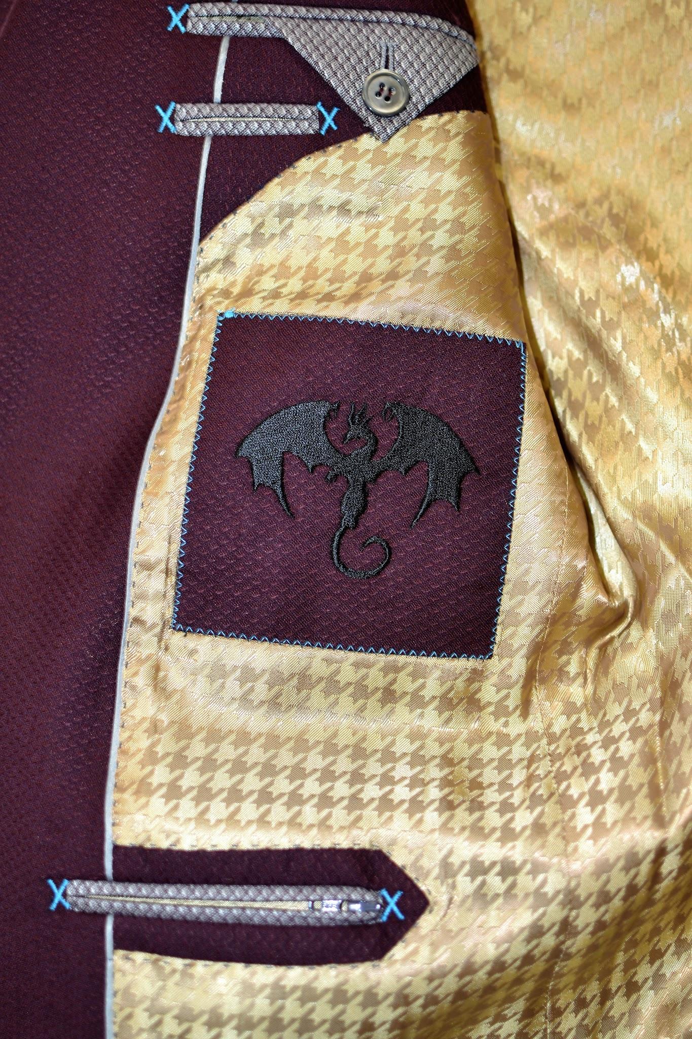 Inside Jacket Monogram
