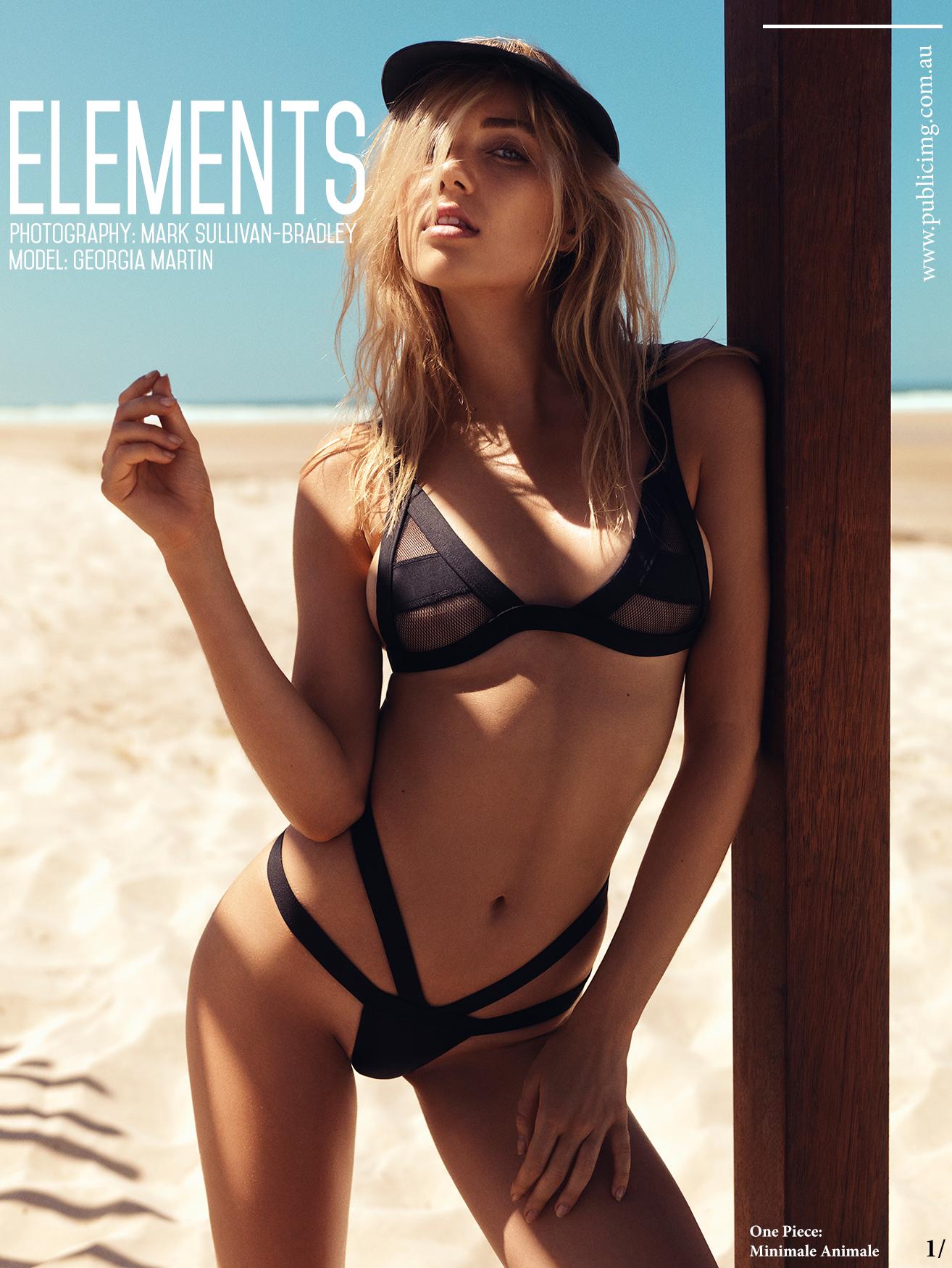 SUMMERSITE     Model - Georgia Martin / Stylist - Marisa Sidoti / HMUA - Satya Schmitz    Location - Belongil Beach, Byron Bay. NSW