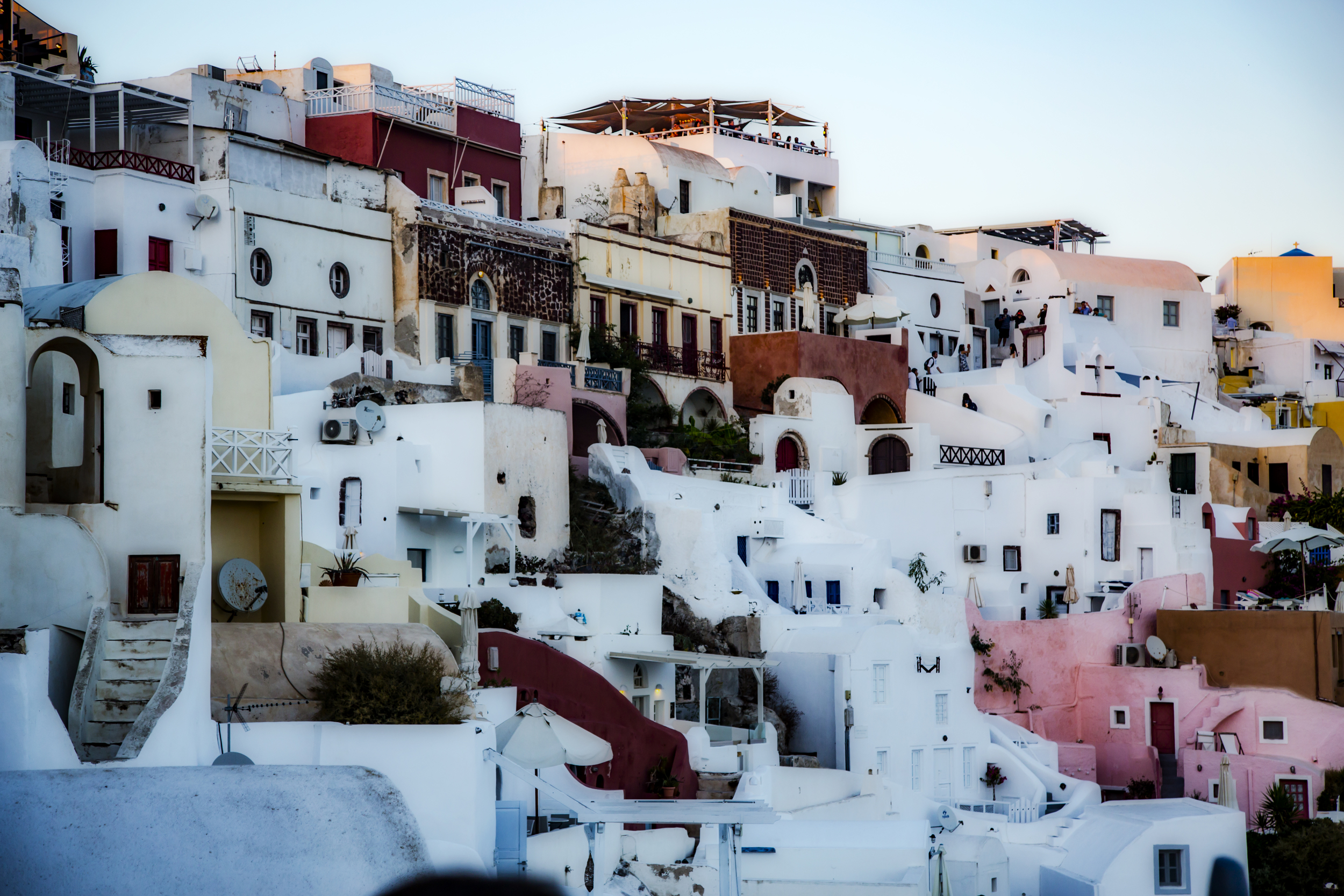 The homes of Oia give a pleasantly whimsical face to the village.