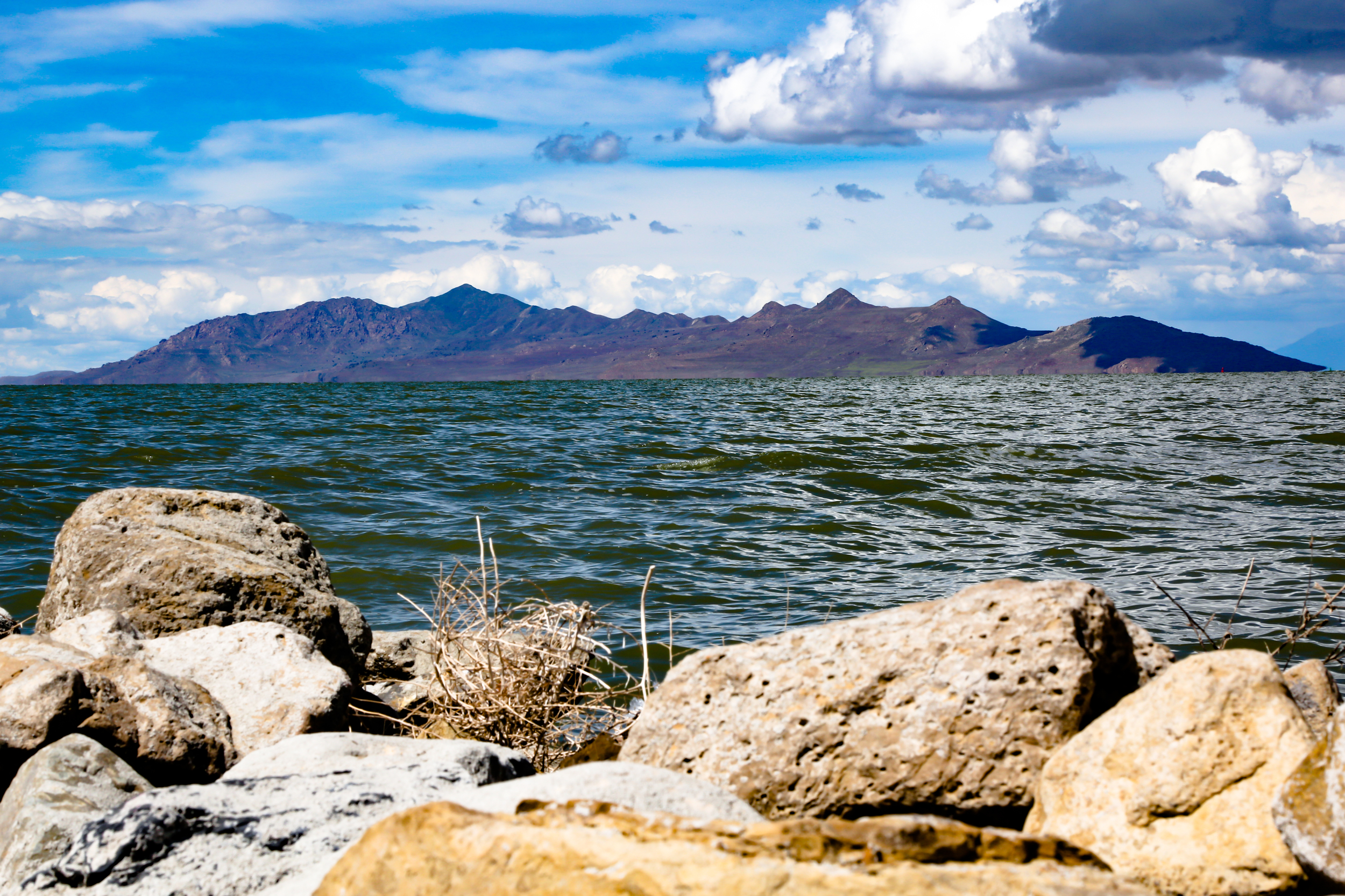 The Great Salt Lake is about 30 minutes from the city center.