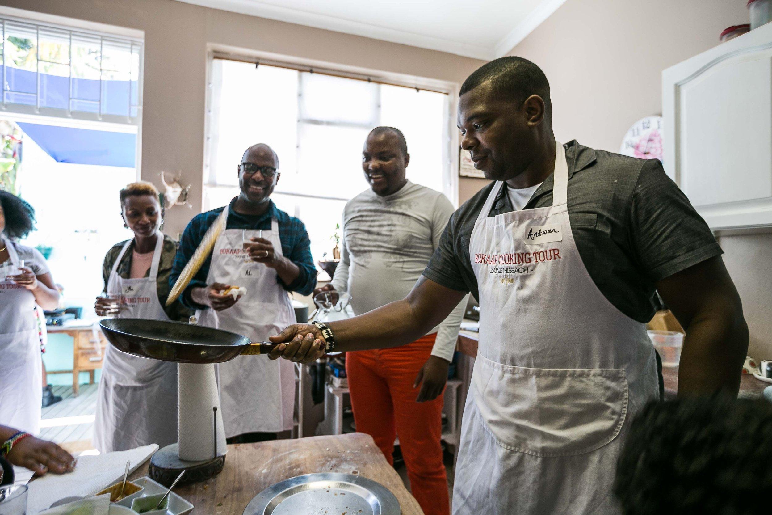 Cooking in Bo-kap