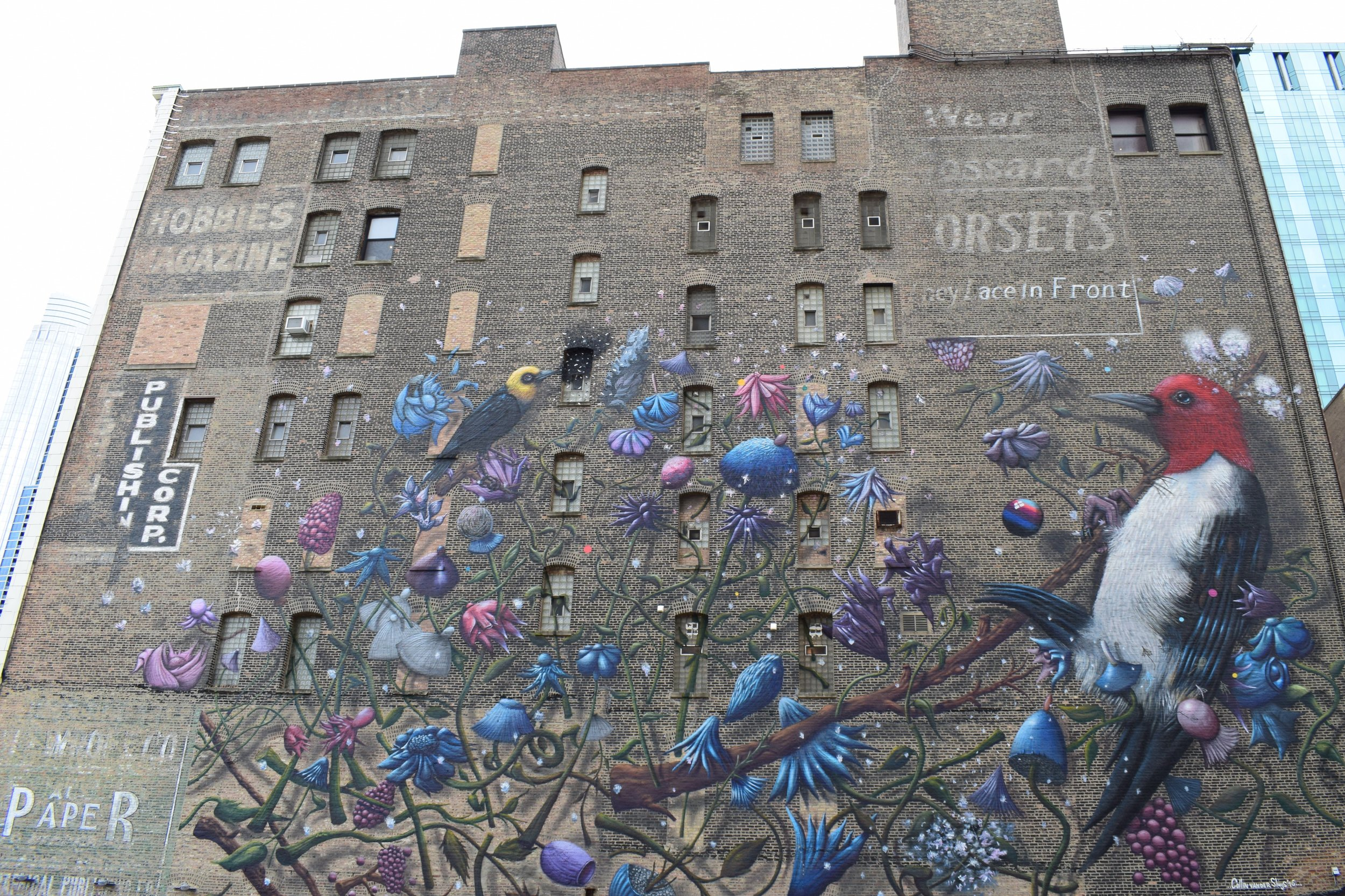 Mural Near Columbia College - photo by Maren Robinson