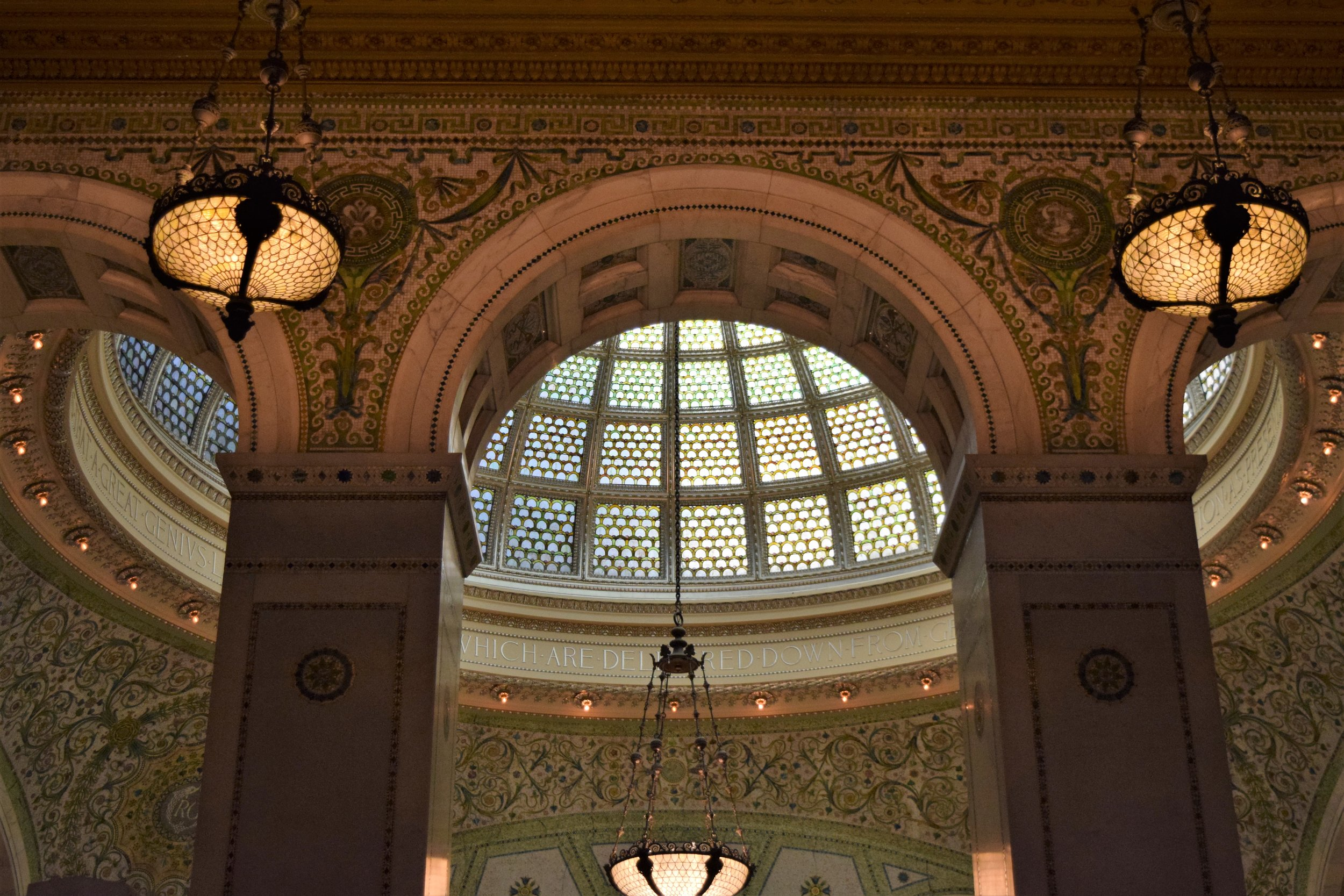 Chicago Cultural Center - photo by Maren Robinson