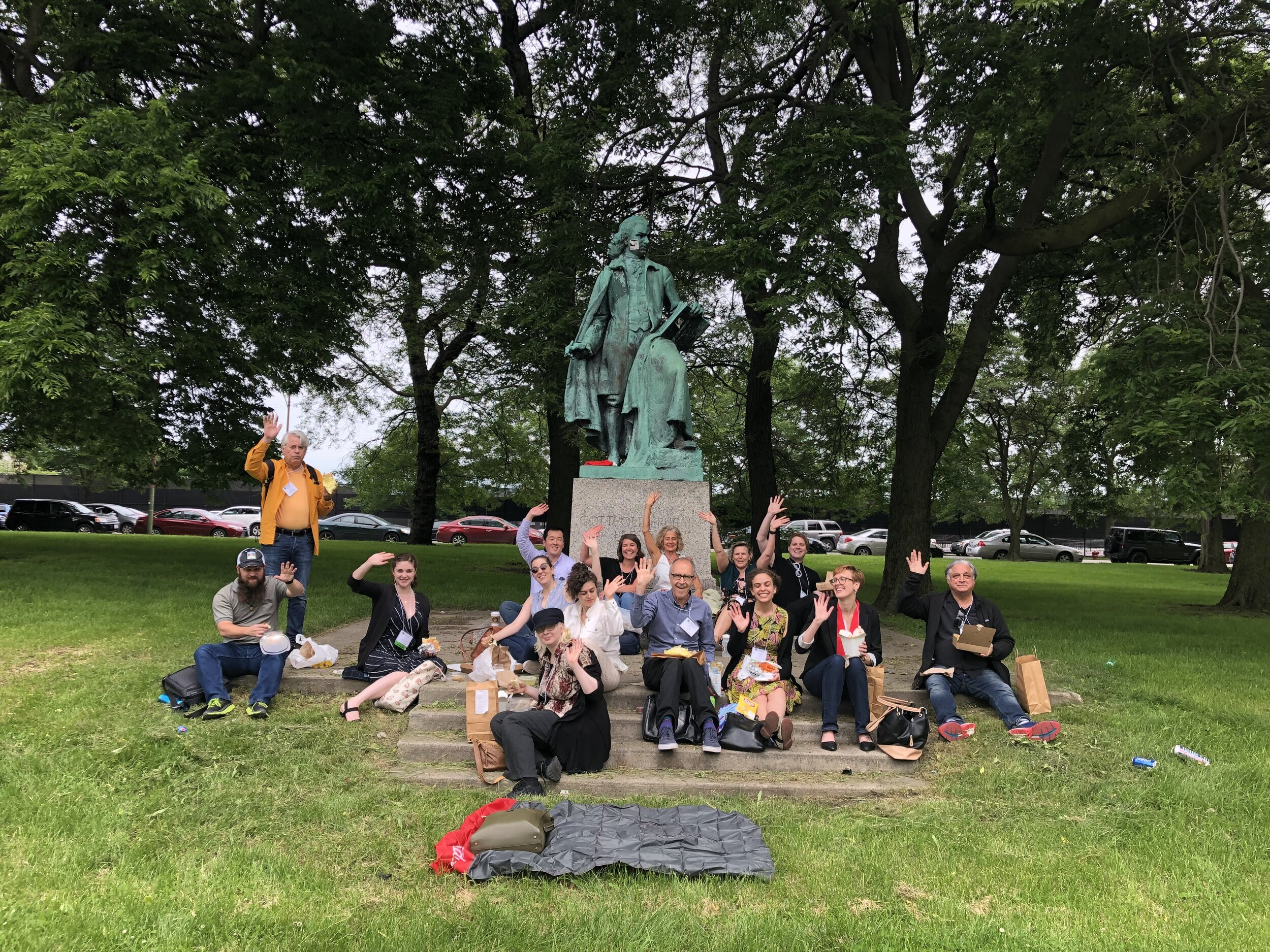 Lessing Picnic for LMDA Conference Attendees in 2019 - photo by LaRonika Thomas