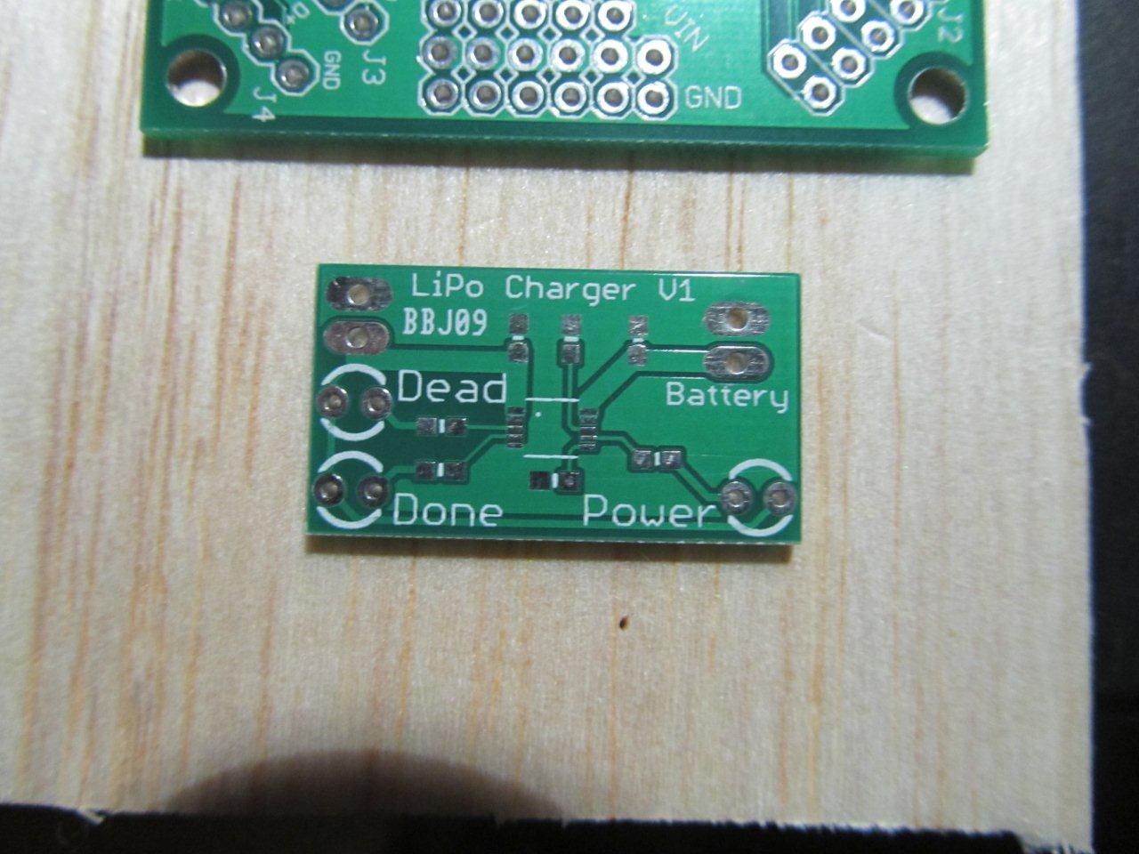 LiPo Charger PCB