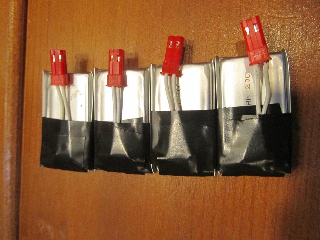 Assembled Batteries