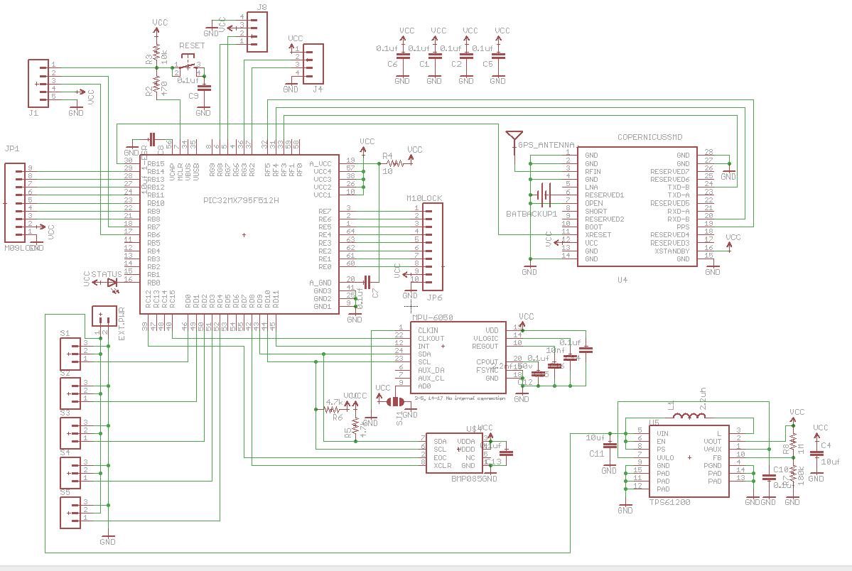 MicroQuad V2 Schematic
