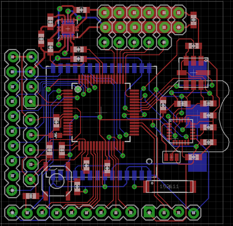 MicroQuad V2 Layout