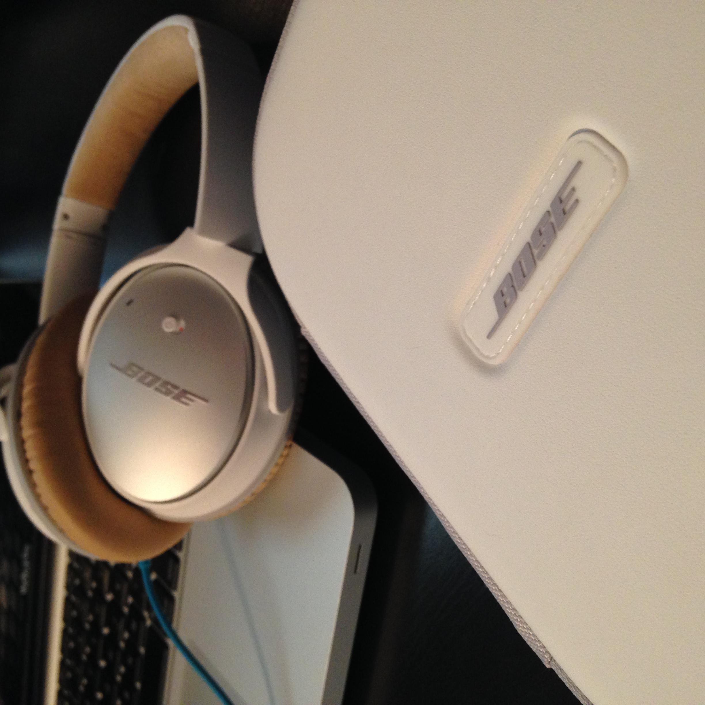 Headphones case.