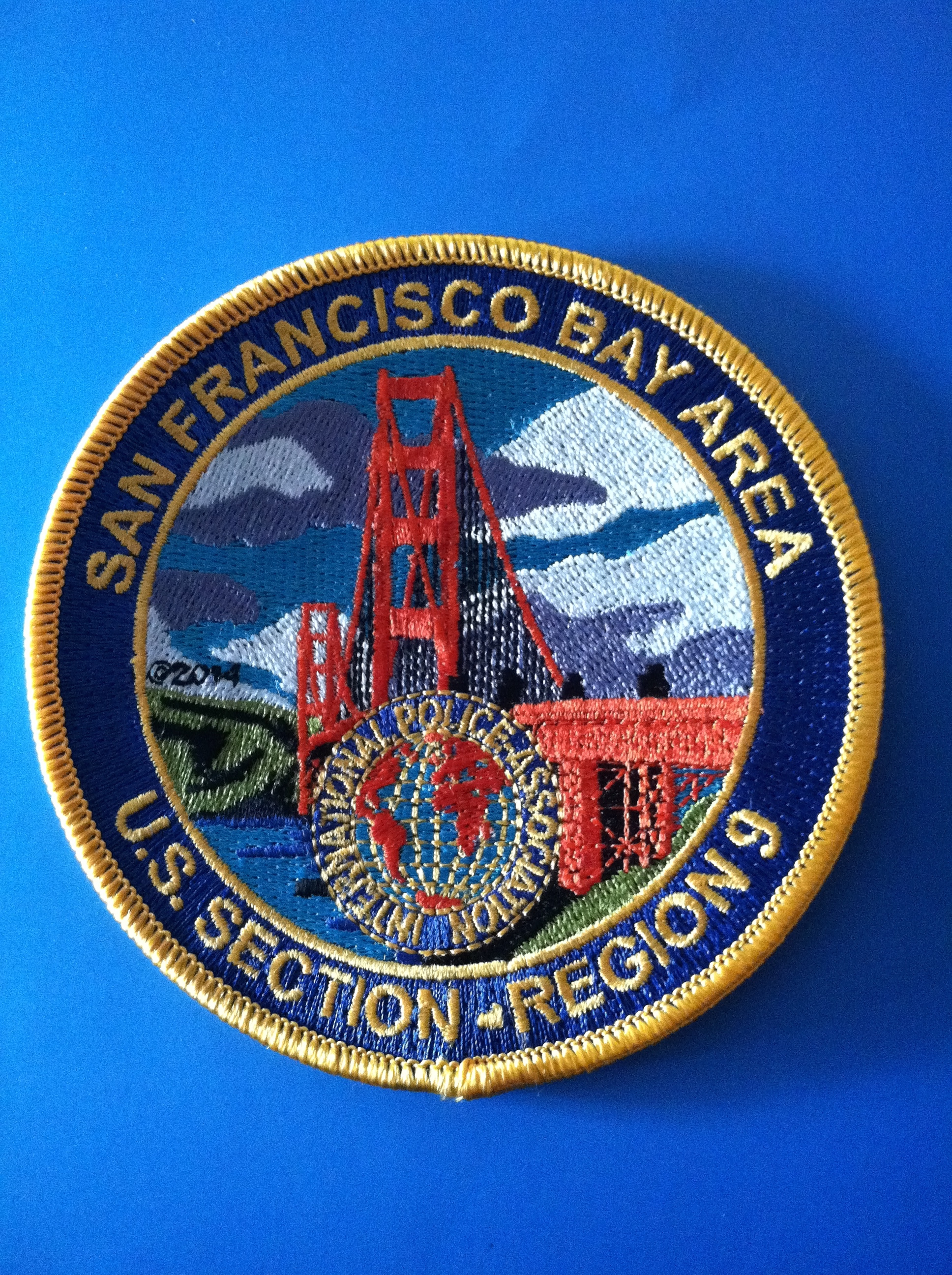 New Region 9 souvenir patch - Available May 2014