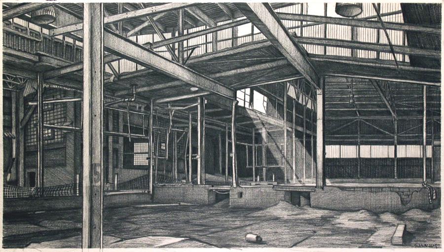 Tool Company Interior #2 (Shafts of Light)