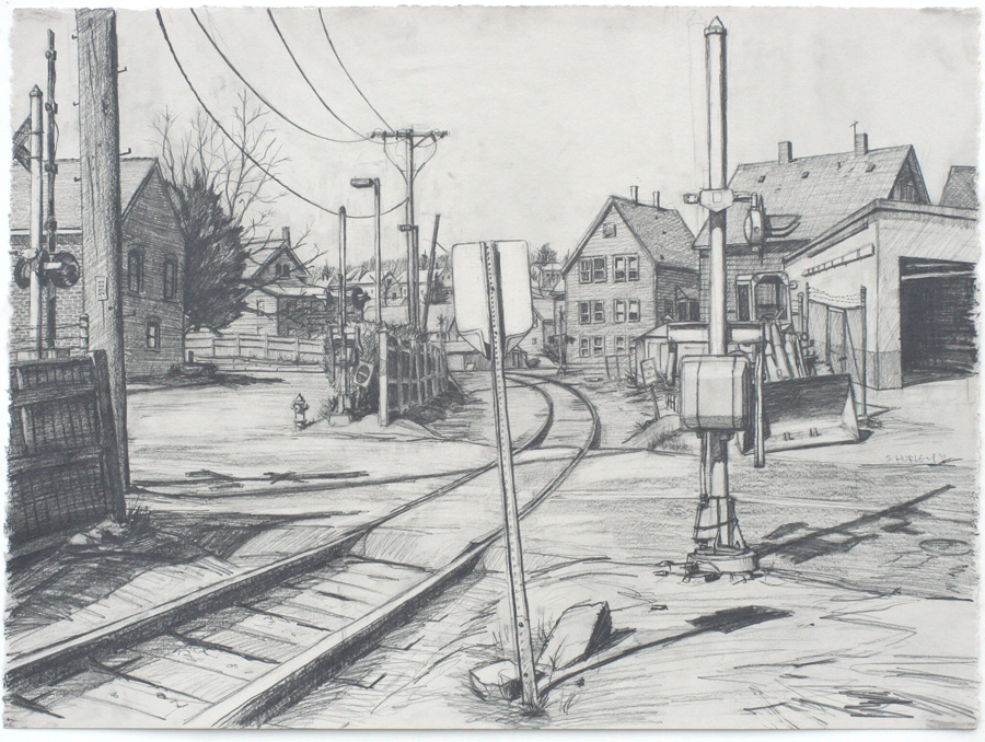 Railroad Crossing (Maplewood Ave)