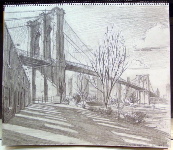 Brooklyn Bridge Study