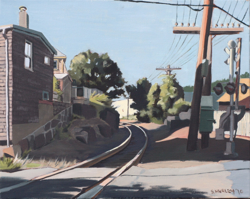 Tracks Heading North: Cedar Street