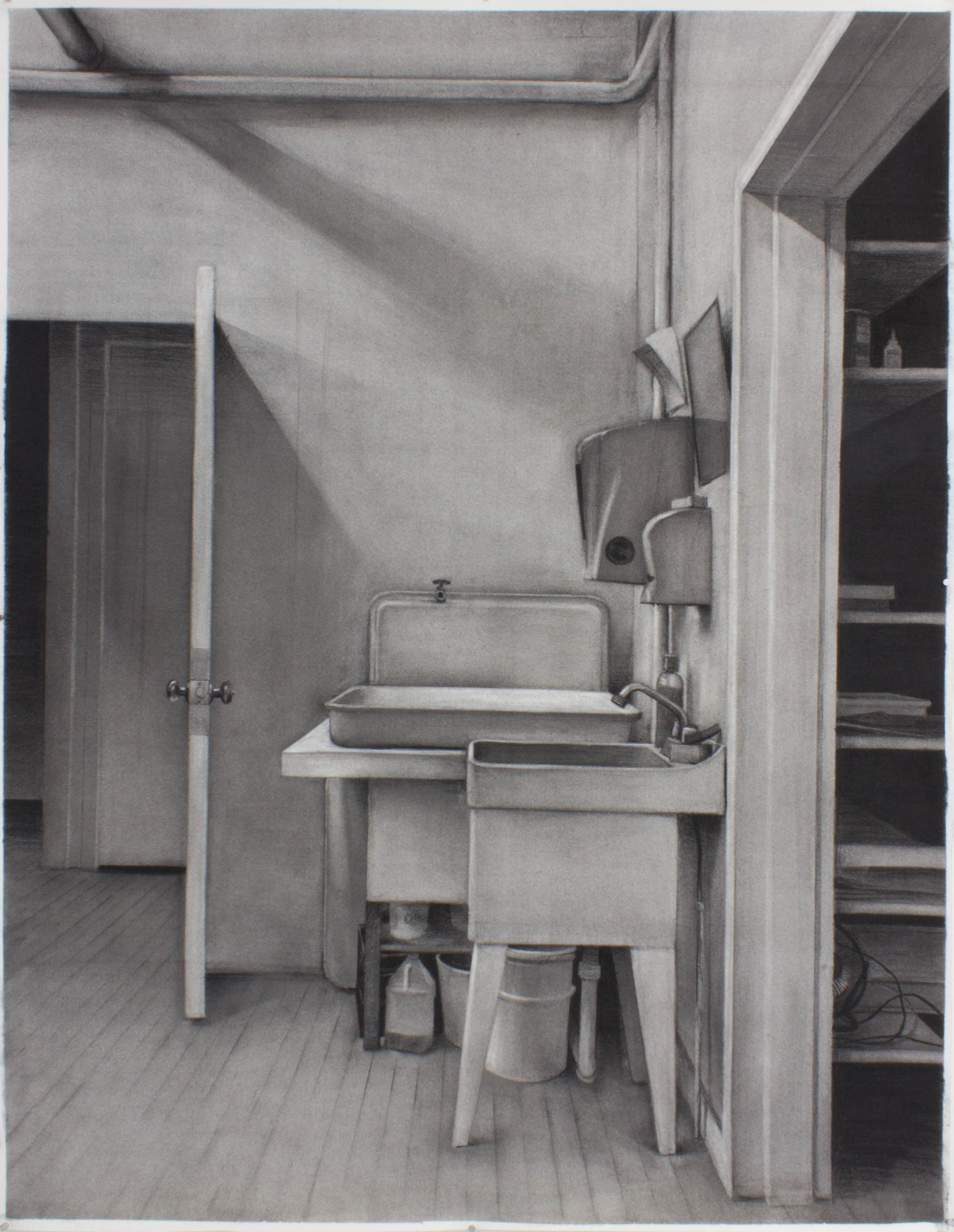 Studio Sink, Johnson, VT