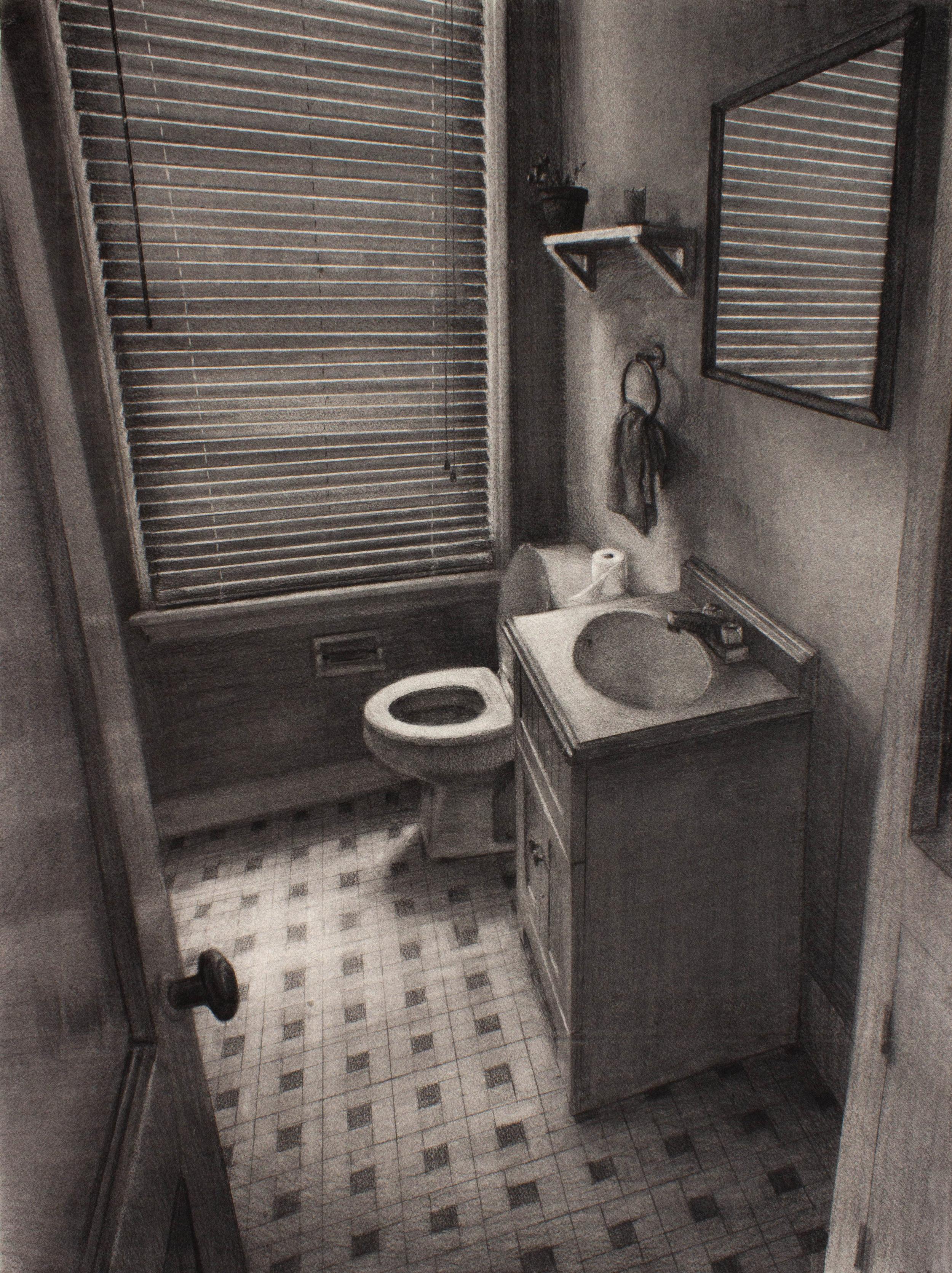 Bathroom, 810 Cherokee Ave
