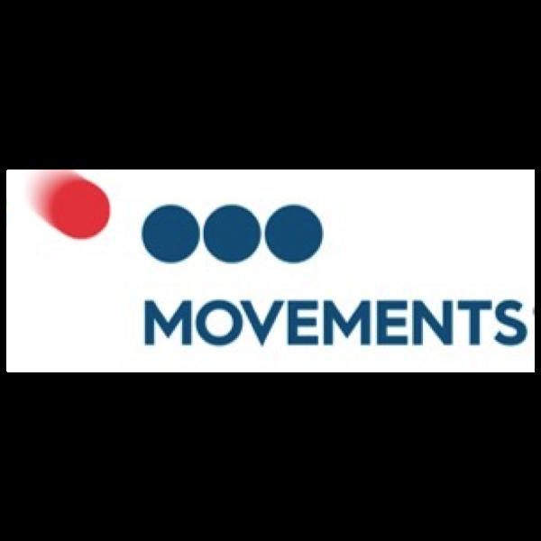 Movements:  Website link