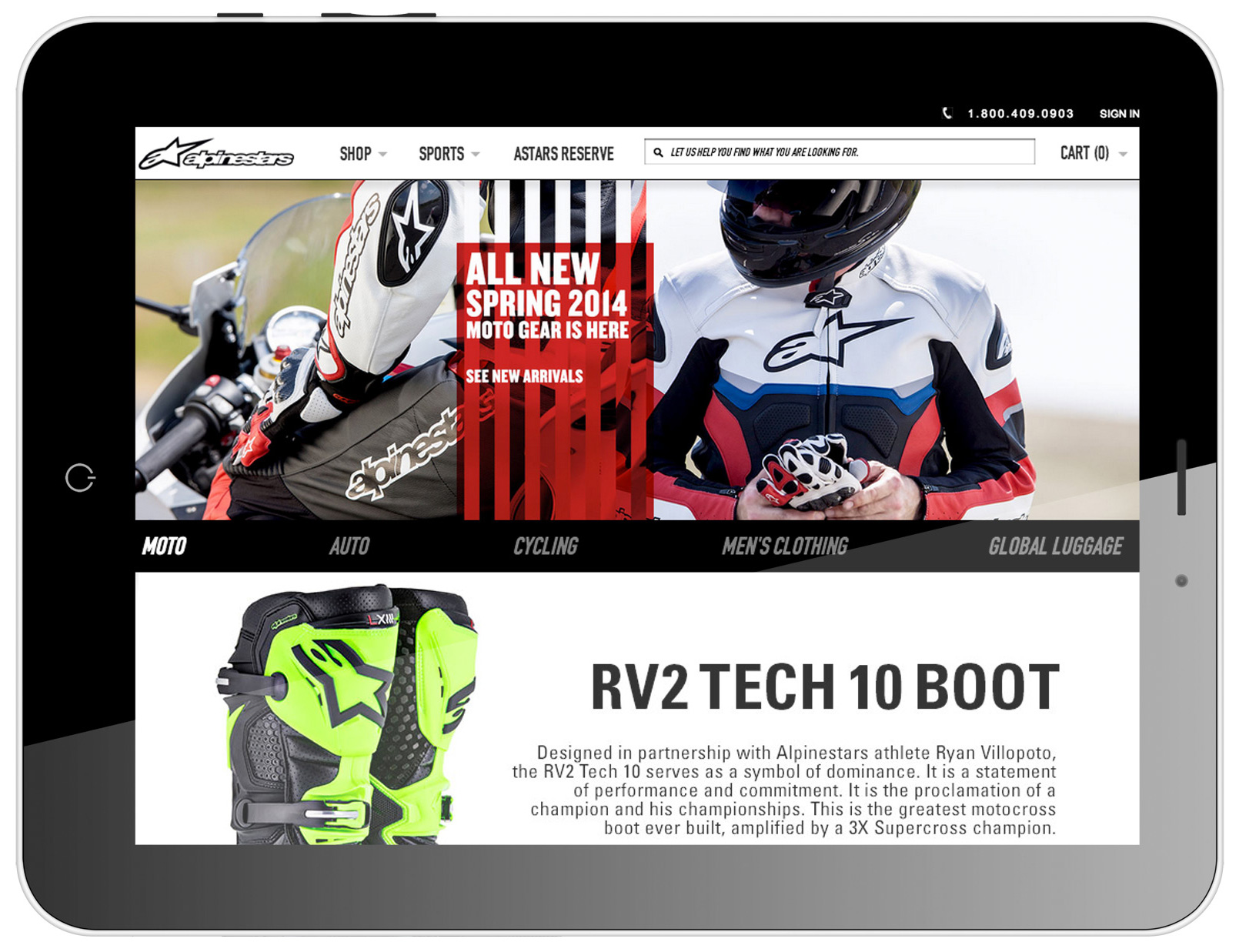 Alpinestars - Protects — Basic Environment