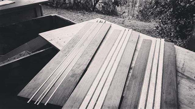 Three special rides for three special dudes ✌🌳 . . . #handmade #handcrafted #ecofriendly #skateboard #sustainable #sustainability #environment #ecosalvaged #reclaimed #recycled #longboard #longboarding #skateboarding #skate #surf #retro #vintage #woodwork #woodworking #recycledwood #recycledtimber #salvaged #reclaimedwood #eco