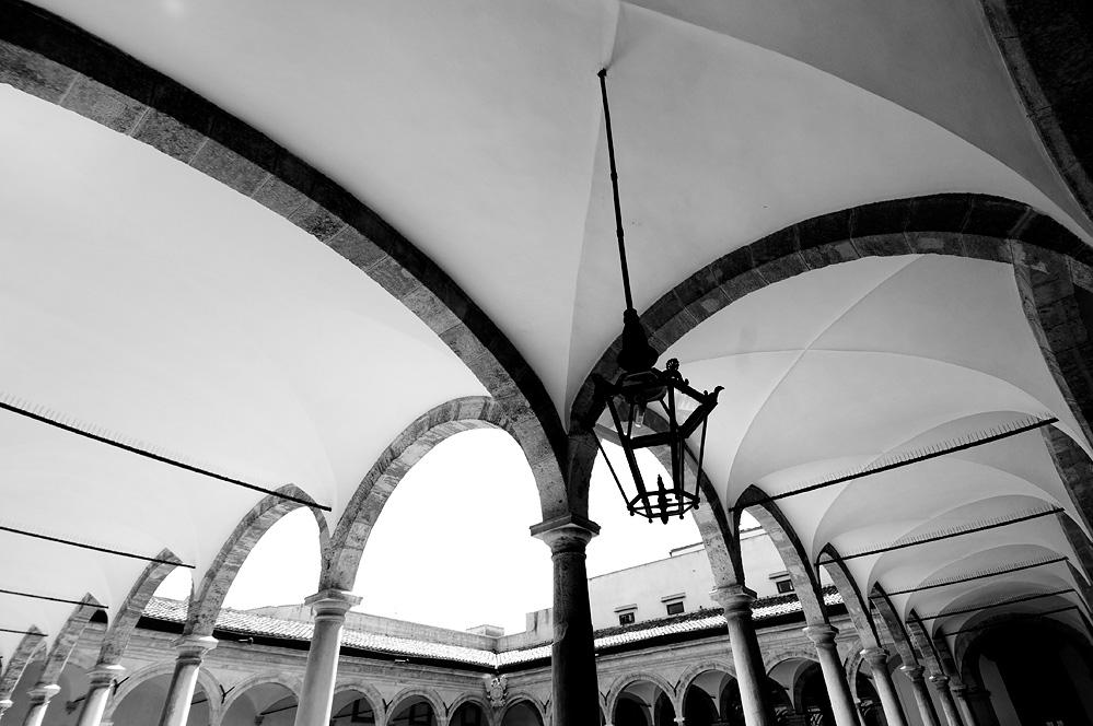 Loggiato del Piano Parlamentare / Palazzo dei Normanni