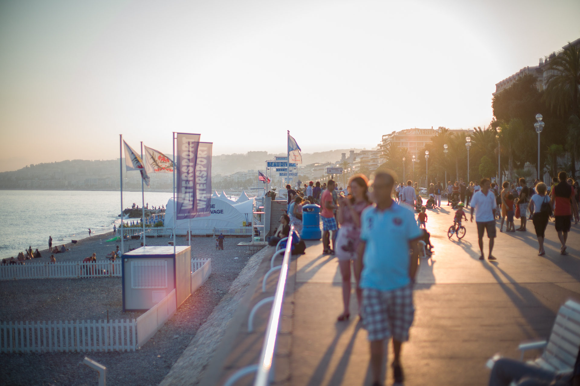 The Promenade, Nice, Late Summer 2014