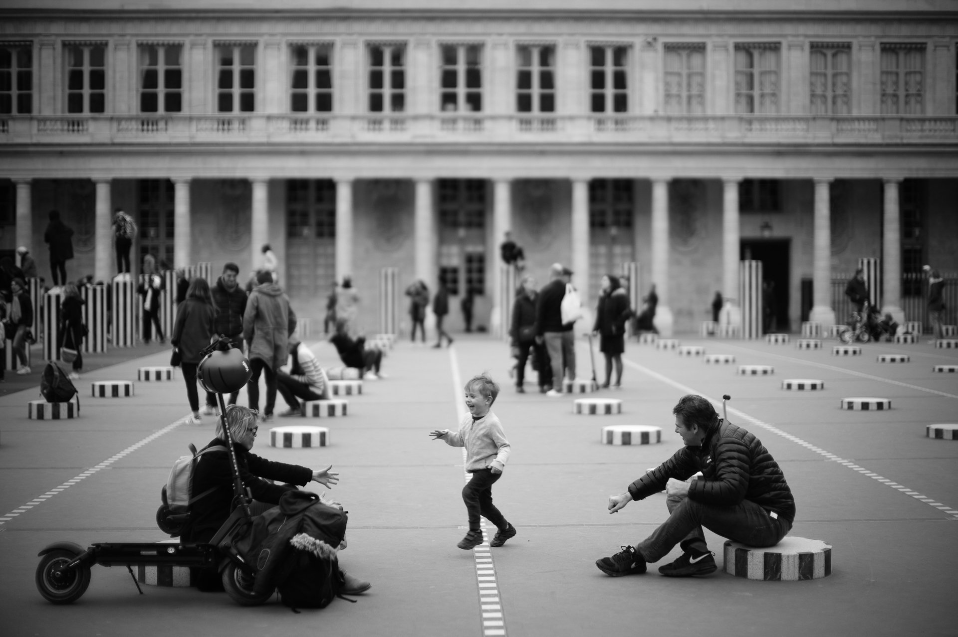 Family time at Palais Royal © 2019 Jerry Yang