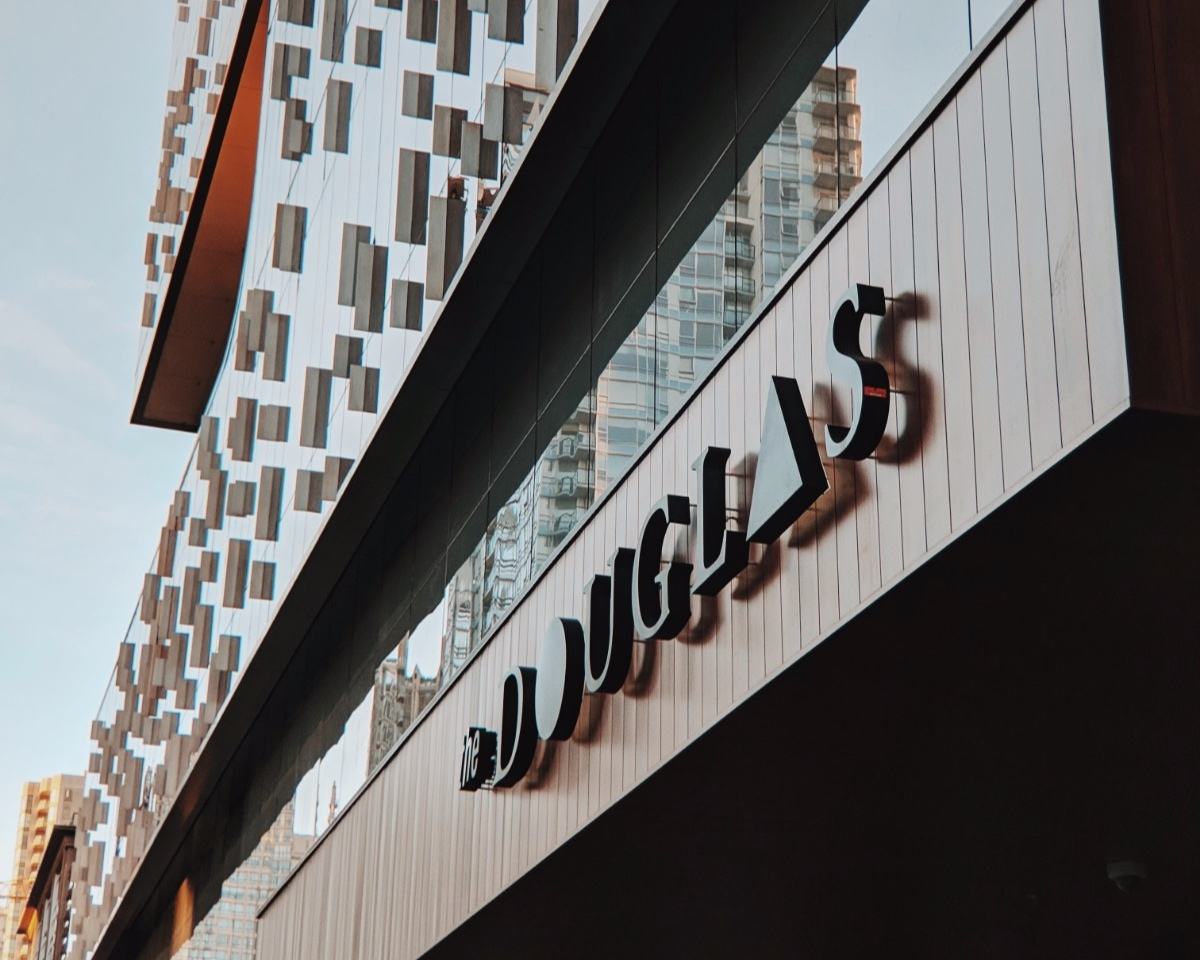 """The Douglas Hotel - The Douglas is not an """"art hotel""""—nor is it a """"design hotel."""" Art at the Douglas is relevant to the dual landscapes that embrace Vancouver, as well as the geometry abstractions they inspire."""