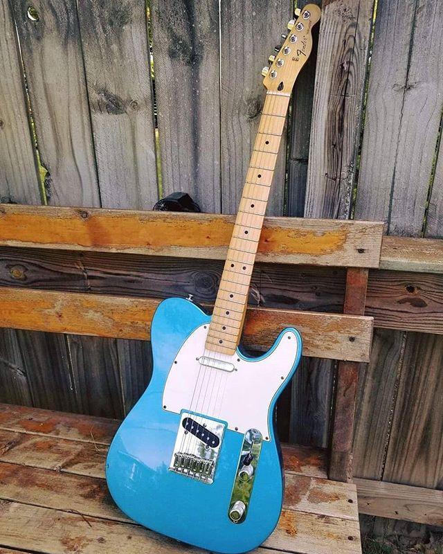 www.shawnsleepsnaked.com  #fender #telecaster #guitar #music