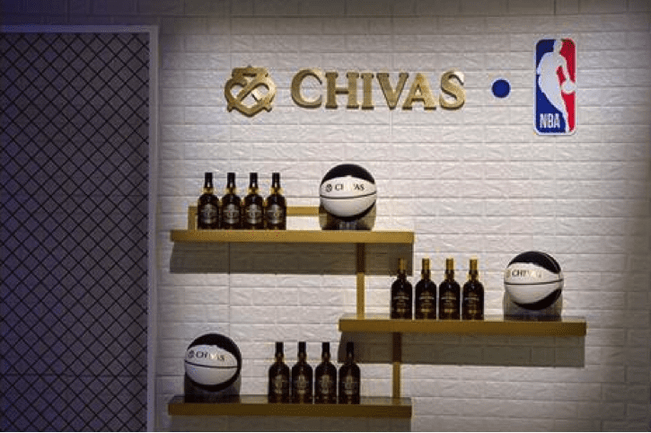 Chivas display