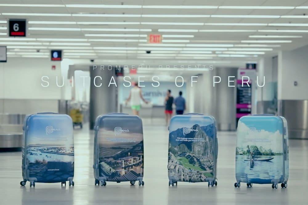 Suitcases of Peru