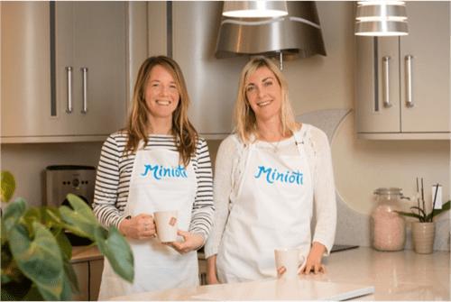 Minioti Co-Founders: Anna Boletta (Left) and Natasha Dowse (Right)