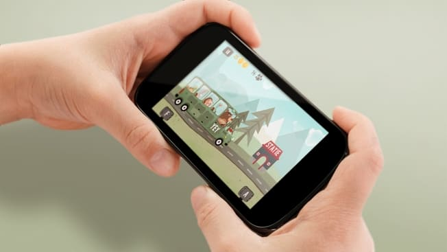 A mobile game