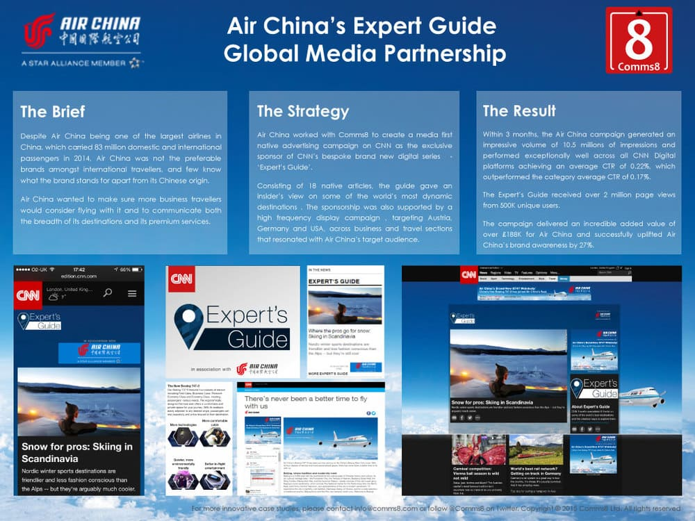 Air China marketing campaign