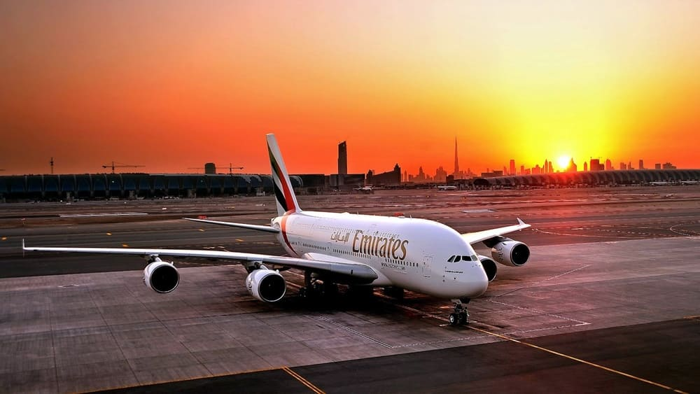 Emirates's A380 aircraft