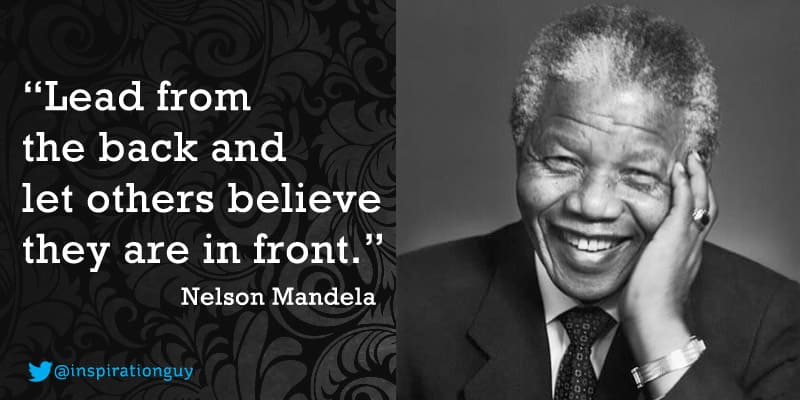 A saying from Nelson Mandela