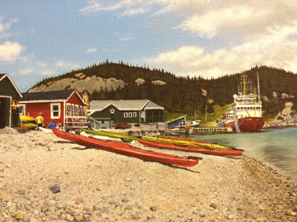 Dion Parsons / Kayaks in Norris Point